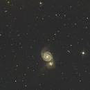 M51  the Whirlpool Galaxy,                                Ray Heinle