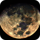 Moon 01-11-2014 in False Color,                                msmythers