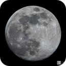 Almost Full Moon (Video Capture Test),                                Chris R White