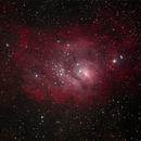 M8 - Lagoon Nebula,                                Charles R. Wright