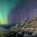 Aurora, milky way and M31,                                Davide De Col