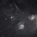 IC 405, IC 410, IC 417,  NGC 1931, NGC 1893,  NGC1907,  M36,  M38,                                Steven Bellavia