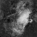 M16 in H-Alpha,                                Apollo
