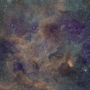 Tulip Nebula Sh2-101 (widefield),                                Carastro