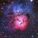 Trifid nebula,                                Daniele Gasparri