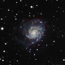 M101   Pinwheel Test,                                Tom Hitchen