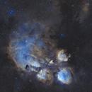 NGC 6334,                                JamesWu