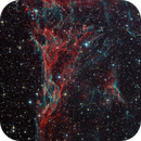 Pickering's Triangle region of the Veil Nebula,                                Scott