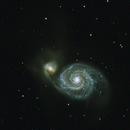 M51 The Whirlpool Galaxy,                                Steve Porter