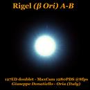 Rigel A-B (beta Ori),                                Giuseppe Donatiello