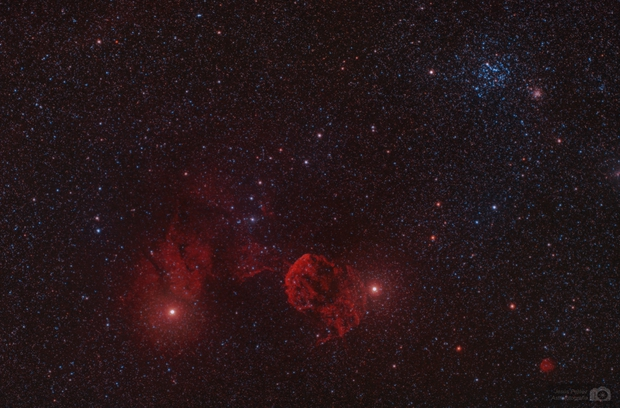 Jellyfish Nebula & M 35,                                J_Pelaez_aab