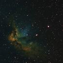 wizard nebula,                                cosmicdonkey