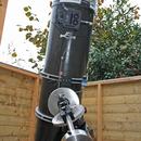 400mm F/4.5 homebuilt Newtonian on MesuMount 200 MKII,                                Albert van Duin