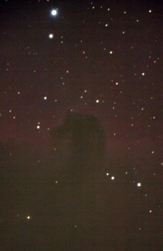 Horsehead nebula,                                Lauri Kangas