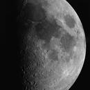 Moon on 8 july 2019,                                John van Nerum