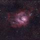 M8 - Lagoon Nebula,                                Isonicrider