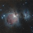 [Neb] M42 (Nébuleuse d'Orion) @Calern,                                Raypulsif