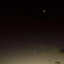 Conjunction Venus-Regulus-Mercury July 9, 2018,                                Ray Caro