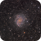 NGC 6946 The Fireworks Galaxy,                                Barry Wilson