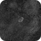 Crescent Nebula in Ha,                                JDJ