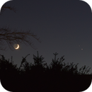Moon, Jupiter and Saturn on 2020-12-17,                                Benny Colyn