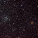 M52 Open Cluster,                                JMDean