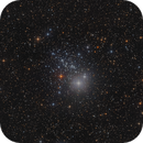 NGC457 - The Owl Cluster (LRGB),                                Frank Breslawski