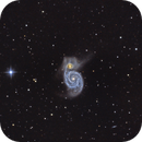 M51 Whirlpool Galaxy,                                Andrea Pistocchini - pisto92