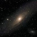 M31 - First light of Vixen ED80sf - Testing,                                Bradley Watson