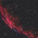 Eastern Veil Nebula,                                Bert Scheuneman
