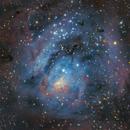Rielaboration of the Lagoon Nebula,                                Carlo Caligiuri