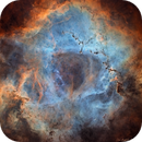 NCG 2237 : Rosette Nebula SHO Reprocessed,                                Jean-Baptiste Auroux