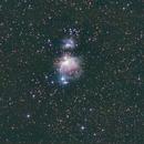 Nébuleuse d'Orion (M42) situé dans la constellation d'Orion.,                                Denis Bergeron