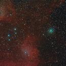 Cometa M3 (ATLAS) IC405 IC410,                                Yuriy Oseyev