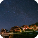 Alp village at night,                                Markus A. R. Langlotz