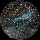 Pencil Nebula - NGC 2736 - LRGBHOO - Chile CDK 17 Contest,                                Harold Freckhaus