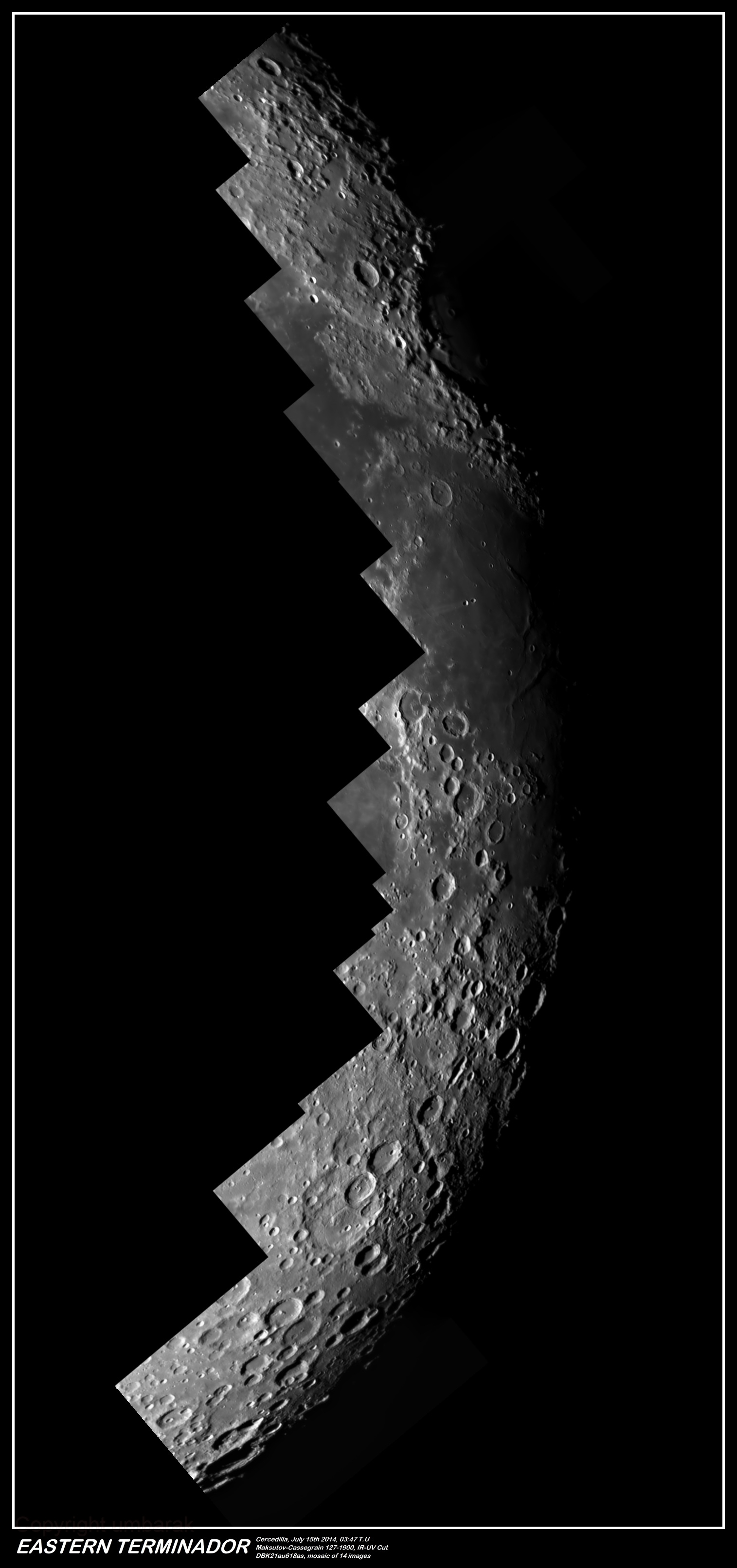 Moon Eastern Terminador 2014,                                umbarak
