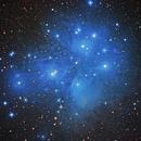 M 45 - Pleiades,                                Bob Gillette