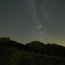 Milky Way over the Gantrisch 13.10.2017,                                SwissCheese