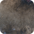 Pipe Nebula and M8 two panel mosaic,                                ozstronomer