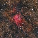 NGC 6820 & NGC 6823 in Vulpecula,                                Jarrett Trezzo