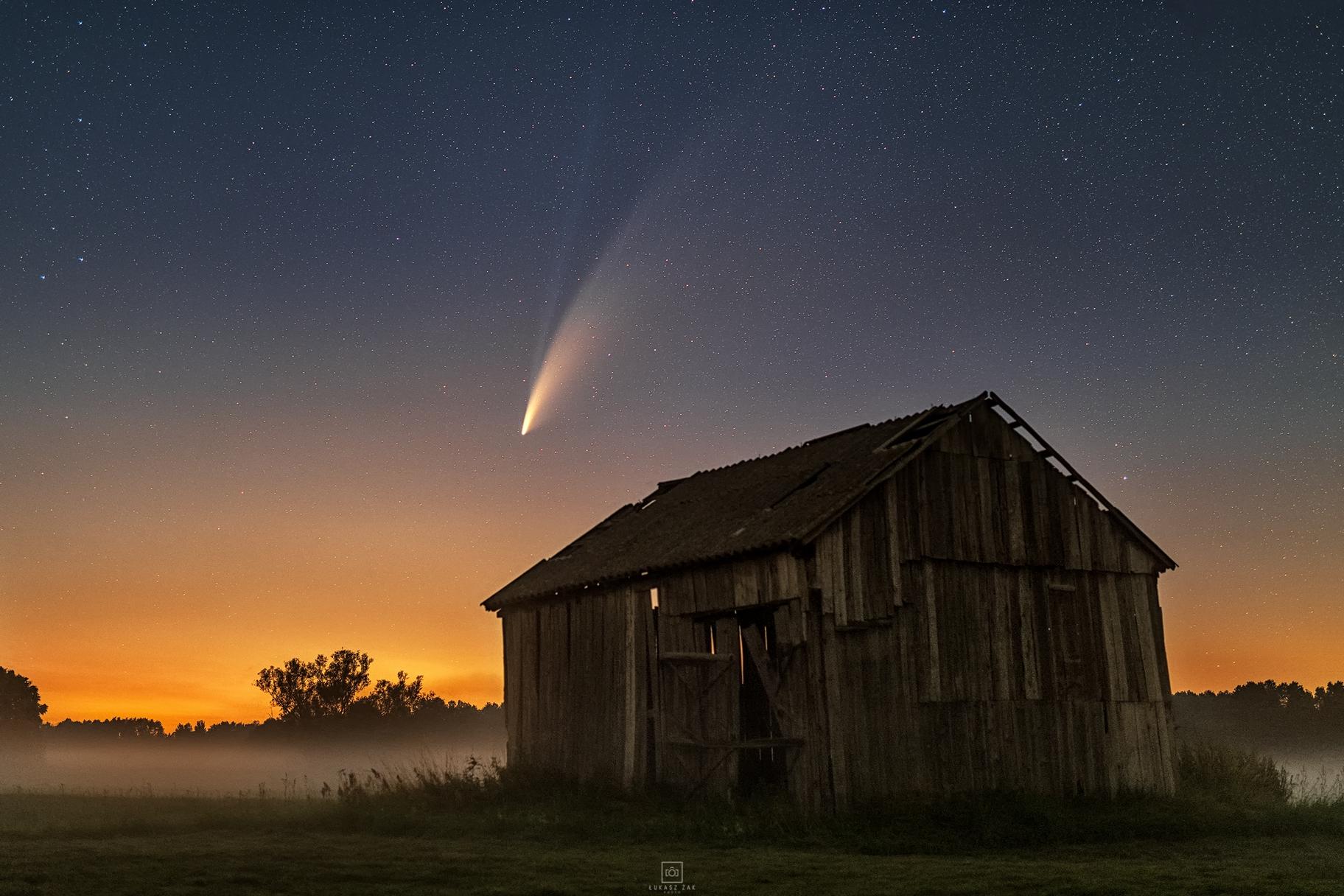 Comet C / 2020 F3 NEOWISE 15.07.2020, Łukasz Żak