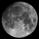 "99% Moon over Hamburg on Sep 30th 2020 (36MP mosaic) with 5"" Maksutov,                                Jesco"