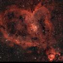La nébuleuse du coeur IC1805 Heart Nebula  Sharpless 2-190,                                Victor