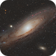 M31 - Andromeda Galaxy in Fullframe,                                Chen Wu