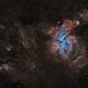The Great Carina Nebula Region in SHO,                                Bogdan Borz