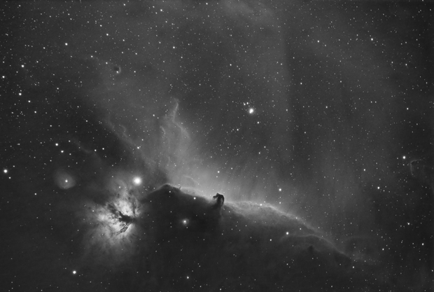 Horsehead Nebula (DSLR with 7nm Ha filter),                                drivingcat