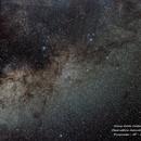 Via Láctea, 150 Fotos,Câmera Nikon D3200, 50mm 1.8 em 2.8, 5s e ISO 6400 em Tripé Fixo sem acompanhamento.,                                Alicia Galdi Calderan
