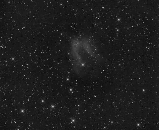 SH2-174 LBN598 Valentine Rose Nebula in Ha (OIII and RGB pending...),                                Tobias Artinger