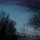 Mercury and Venus Conjunction,                                Scott